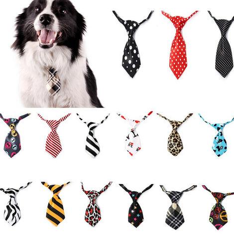 aléatoire mignon chien chat chiot chat réglable noeud papillon cravate collier accessoire pour animaux de compagnie 12