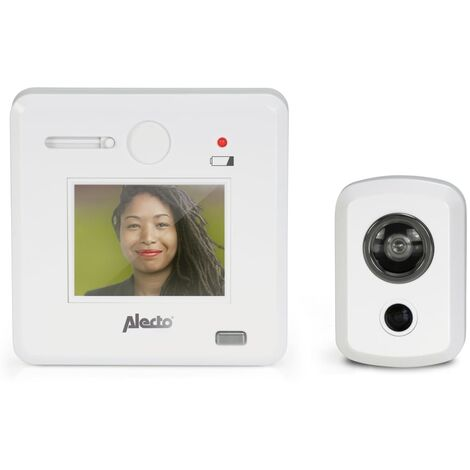 "Alecto Digital Door Viewer Camera with 2.4"" Display DC-700 White"