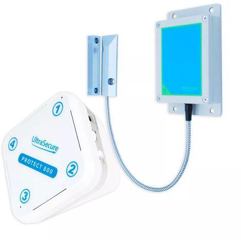 Alerte détection d'ouverture longue distance 800 mètres sans-fil - détecteur IP65 + récepteur performant (PROTECT 800)