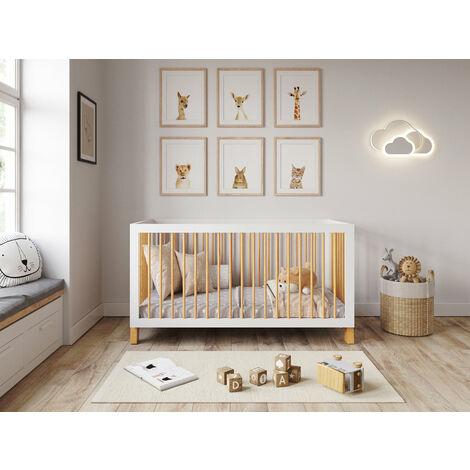 Alexander Convertible Cot Bed Pine 140 x 70cm