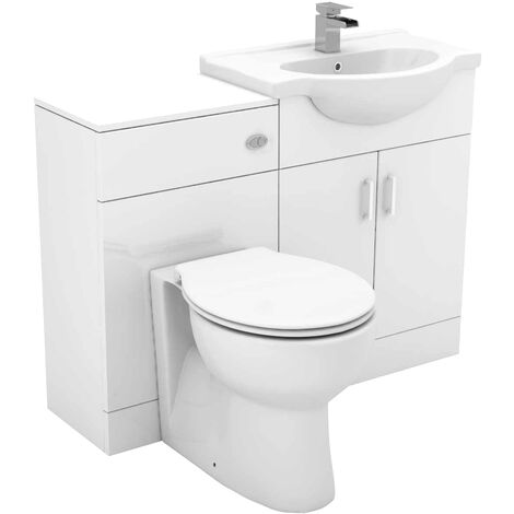 Alexander James 1150mm Vanity Unit Toilet Suite