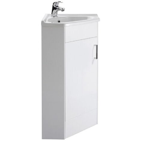 Alexander James 580mm Corner Vanity Unit