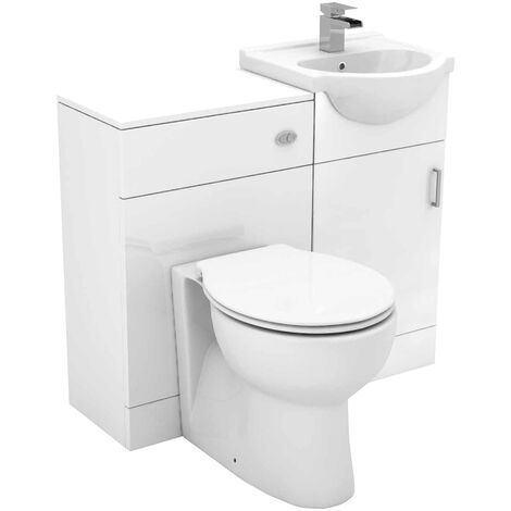 Alexander James 950mm Vanity Unit Toilet Suite