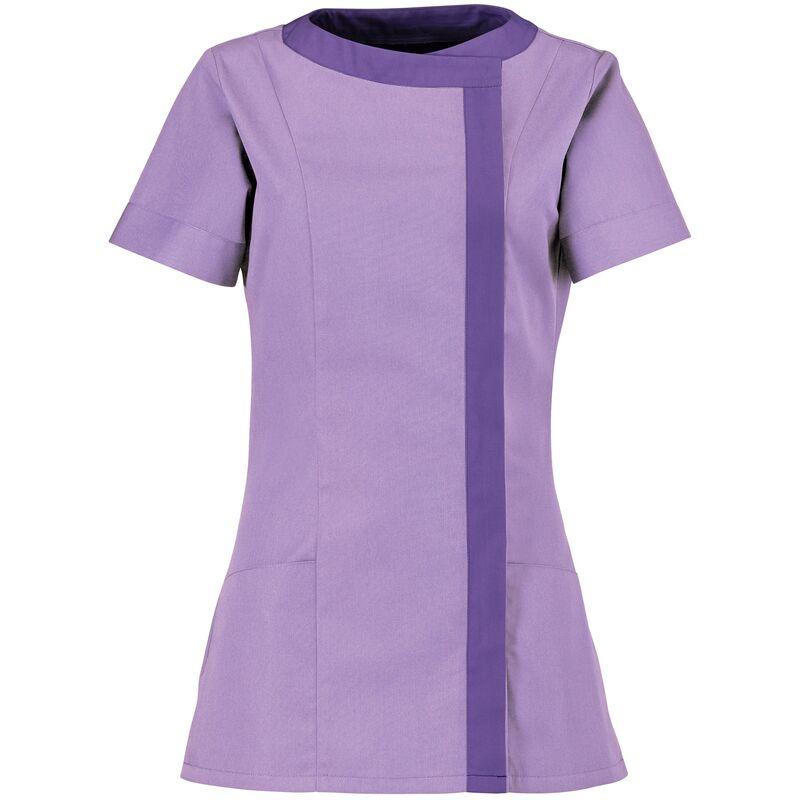 Image of Womens Asymmetric Tunic / Health Beauty / Medical Workwear (14) (Lilac/ Purple) - Alexandra