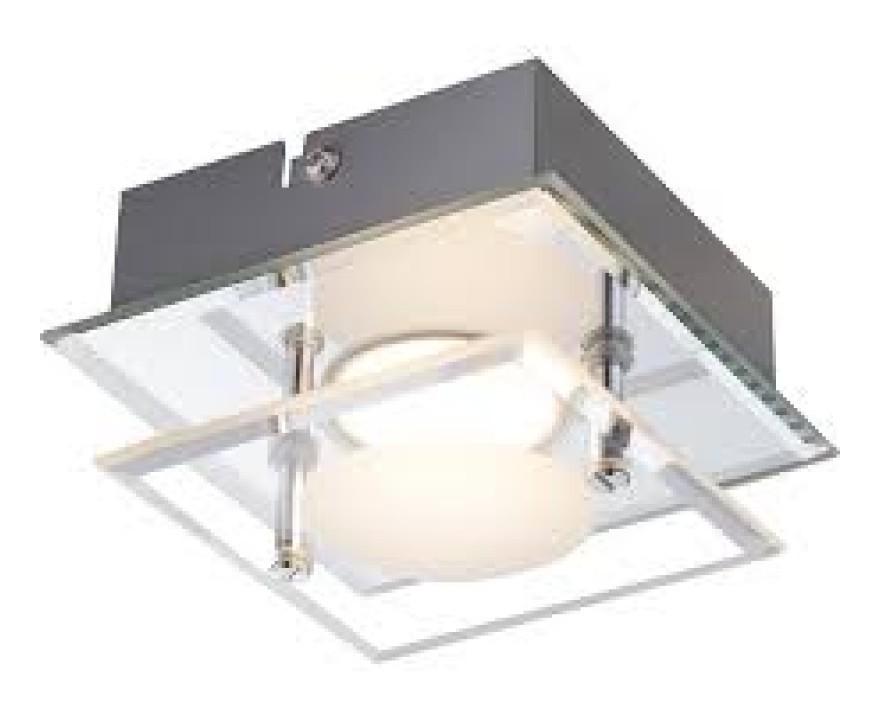 Plafoniera Quadrata Vetro Satinato : Plafoniera quadrata luce per lampade a soffitto dalani e ora