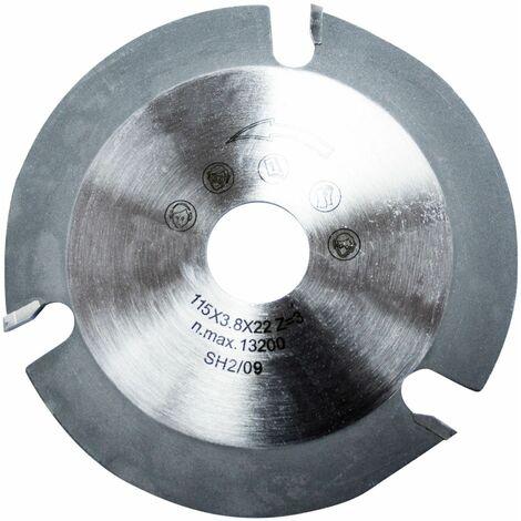 ALFA disco amoladora cortar madera 115mm 1 unidad