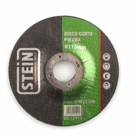 ALFA disco amoladora corte rapido piedra 115mm 3,2mm 25 unidades