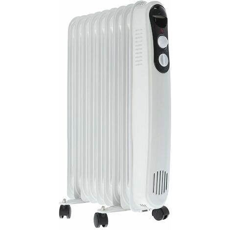 Alfa radiador de aceite termico de 9 elementos 2000w muy bajo consumo