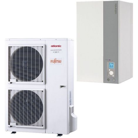 Alfea excellia 16 TRI 400V 16 Kw Atlantic pompe a chaleur air/eau A++