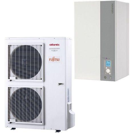 Alfea excellia 16 TRI 400V 16 Kw ATLANTIC pompe a chaleur inverter air eau A++