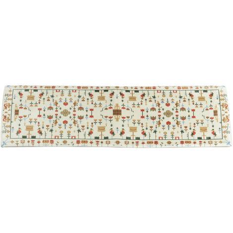Alfombra antideslizante de 120x45 cm para el dormitorio de la cocina casera Sasicare