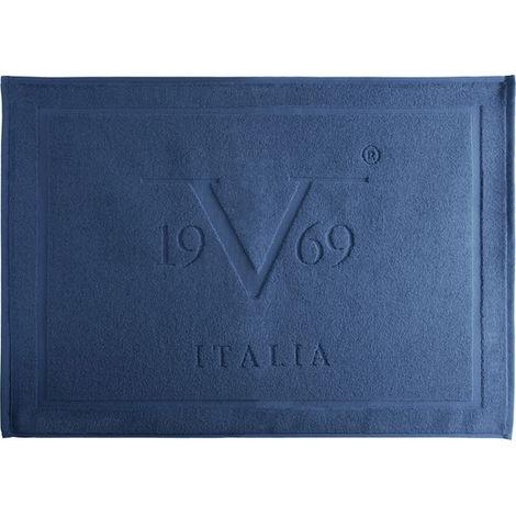 Alfombra BaÑo Azul 50x70cm Versace 19v69 Abbigliamento Sportivo Srl