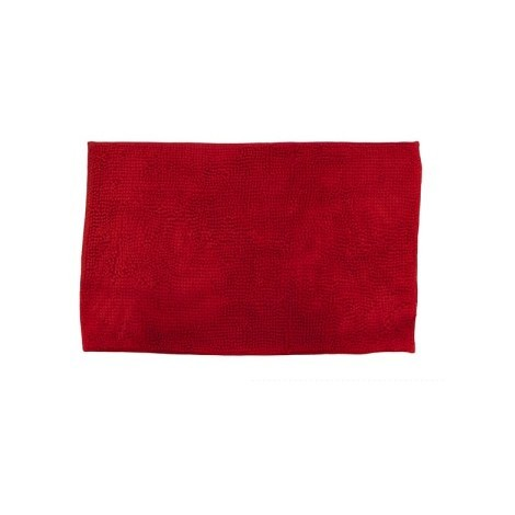 Alfombra Baño Felpa Roja 80X50 Cm - NEOFERR - Ph0916