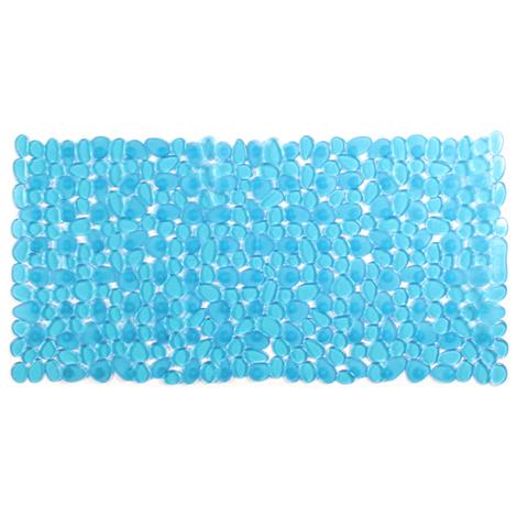 Alfombra BaÑo Pvc Azul - TATAY - 5510200 - 70X36 CM