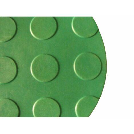 Alfombra Caucho antideslizante 10x1m - Punto moneda - Colores