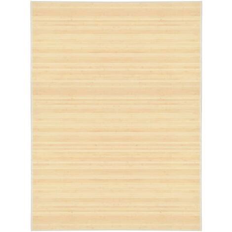 "main image of ""Alfombra de bambú 150x200 cm natural - Beige"""