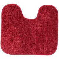 Alfombra de baño con pedestal Doux Sealskin roja 294428459, 45 x 50 cm