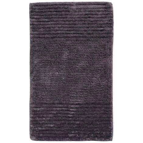 Alfombra de baño de color antracita, Sealskin, 50 x 80 cm, 294435413