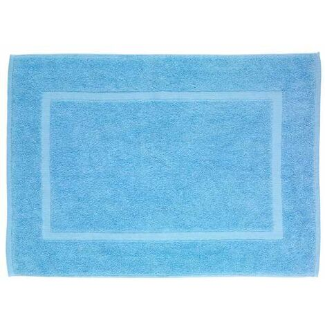 Alfombra de baño de terry Paradise Azul Serenidad WENKO
