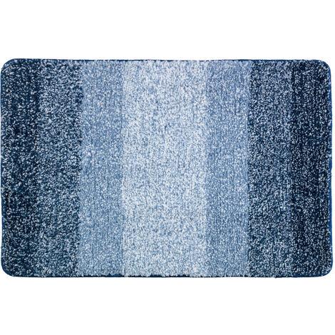 Alfombra de baño Luso azul