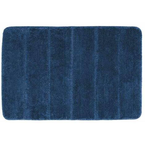 Alfombra de baño Steps azul marino
