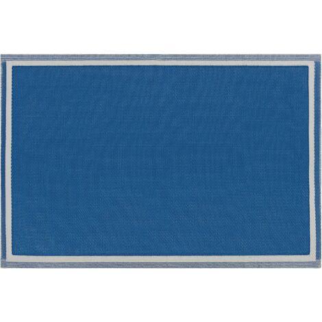 Alfombra de exterior azul 120x180 cm ETAWAH