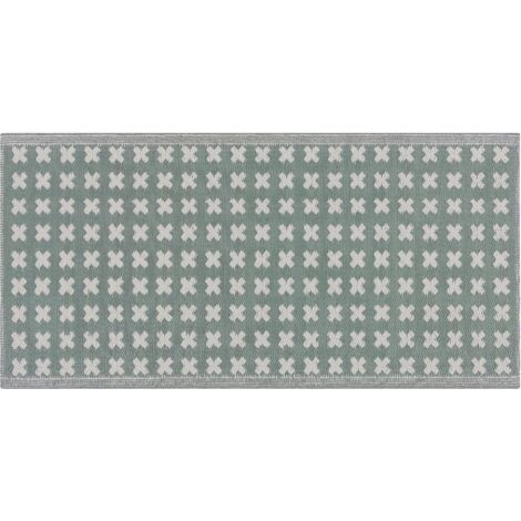 Alfombra de exterior verde 90x180 cm ROHTAK