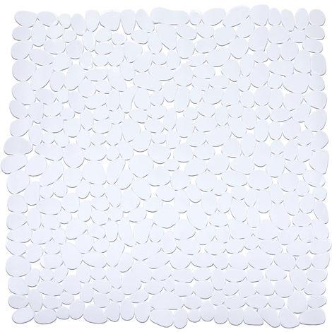 Alfombra ducha Paradise Blanco 54x54 cms. Wenko