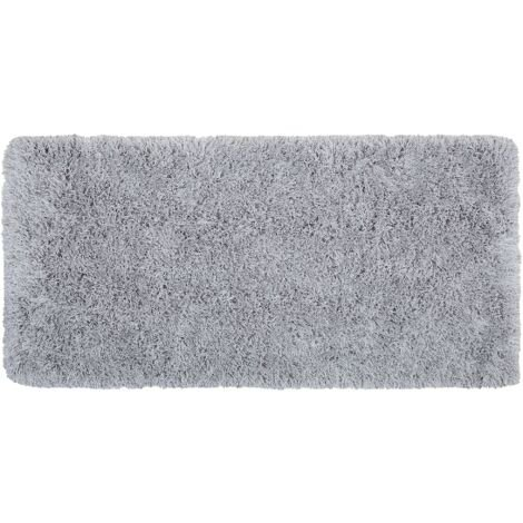 Alfombra gris claro 80x150 cm CIDE