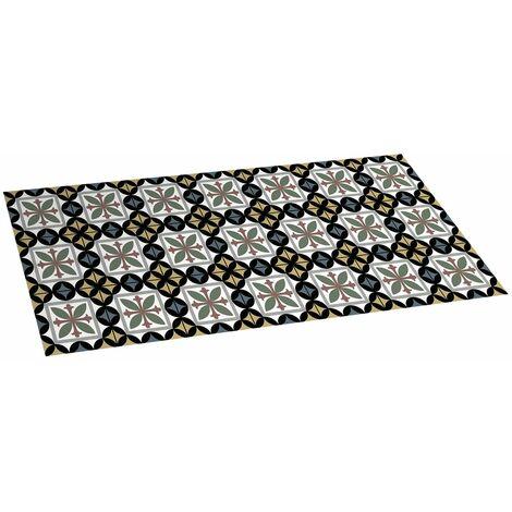 Alfombra Hidráulica, de vinilo acolchado, anideslizante y lavable, ideal para cocina, salón, baño…, 50 x 110cm