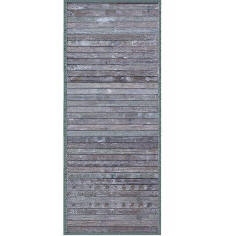 Alfombra Pasillera, Gris, de Bambú Natural 175 X 75cm Natur, 175x75 - Hogar y Más 75 x 175 cm Gris