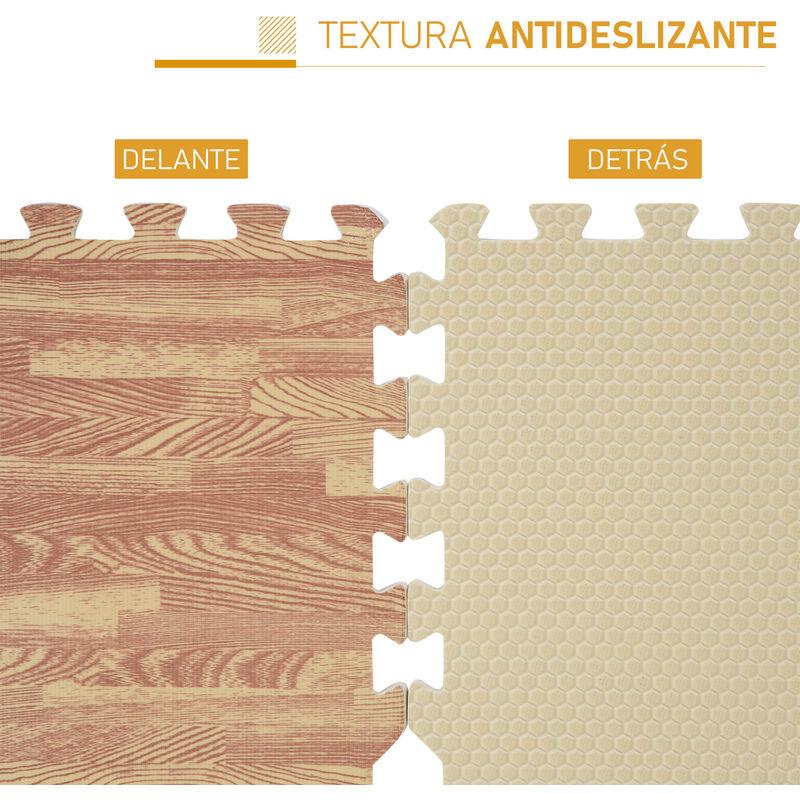 792ae3f3144 Alfombra Puzzle para Niños o Gimnasio– Color marrón – Goma Espuma EVA – 9  metros cuadrados Marron