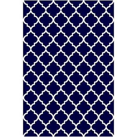 alfombra reversible interior / exterior 180x120cm - fes120cm - red deco -