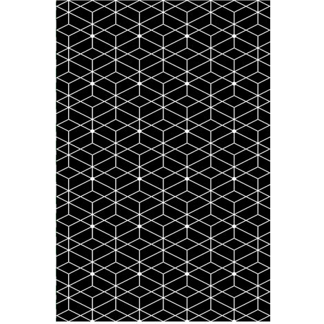 alfombra reversible interior / exterior 180x120cm - naxos120cm - red deco -