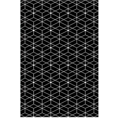 alfombra reversible interior / exterior 180x90cm - naxos90cm - red deco -