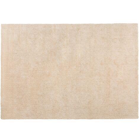 Alfombra shaggy en color beige claro 160x230 cm DEMRE