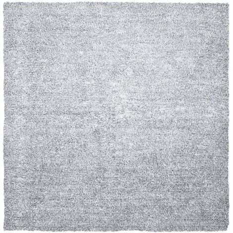 Alfombra shaggy en color gris 200x200 cm DEMRE