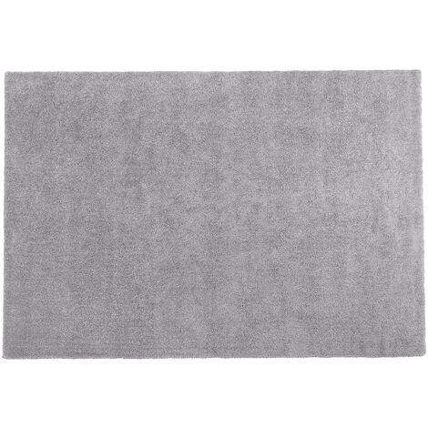 Alfombra shaggy en color gris claro 140x200 cm DEMRE