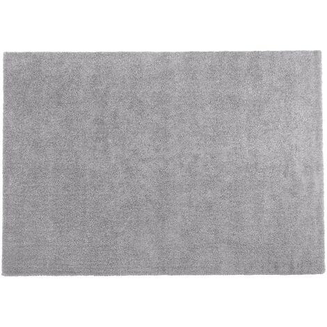 Alfombra shaggy en color gris claro 160x230 cm DEMRE