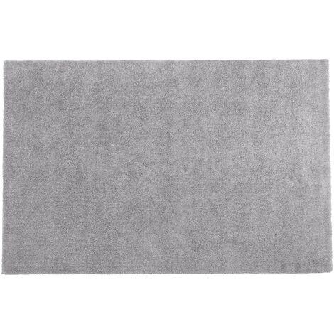 Alfombra shaggy en color gris claro 200x300 cm DEMRE
