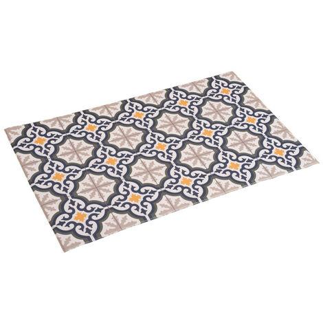 """main image of """"Alfombra vinílica acolchada, alfombra estampada de PVC, lavable y antilesdizante"""""""