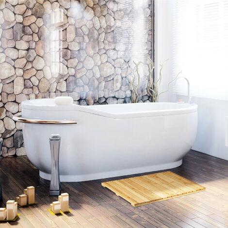 Alfombrilla de baño de bambú