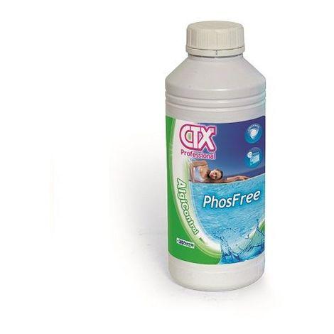 Algicida Eliminador fosfatos piscina 1 L CTX PhosFree