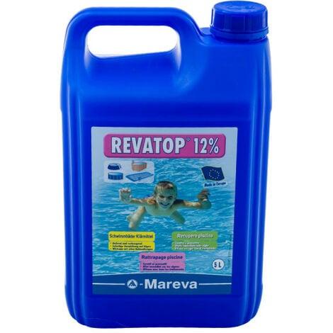 "main image of ""Algicide MAREVA REVATOP 12 % - 5 L - 000124U - Bleu"""