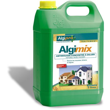Algimix 5L - Antimousse toiture, mur, façade - 014002 - Algipro