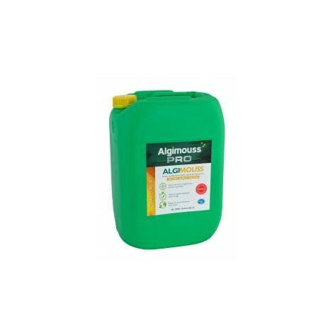 Algimouss Traitement Antimousse Toiture Murs Et Façades 30 L Algimous