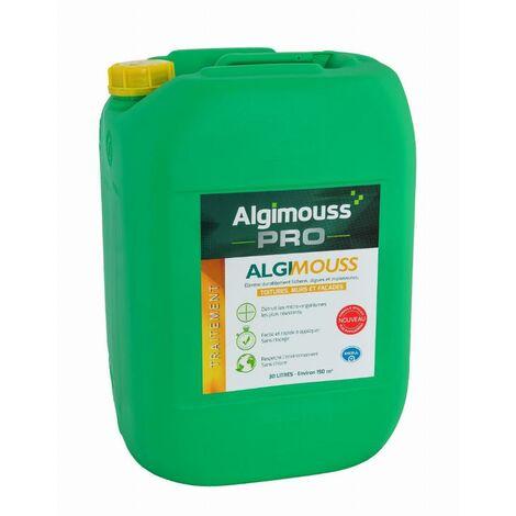 Algimouss Traitement toiture murs et façades ALGIMOUSS - 20 L - 1010