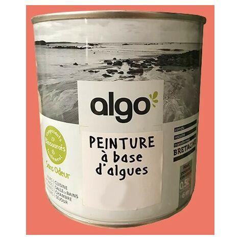 ALGO Peinture à base d'algues Kahouanne Satin - 0,5 L