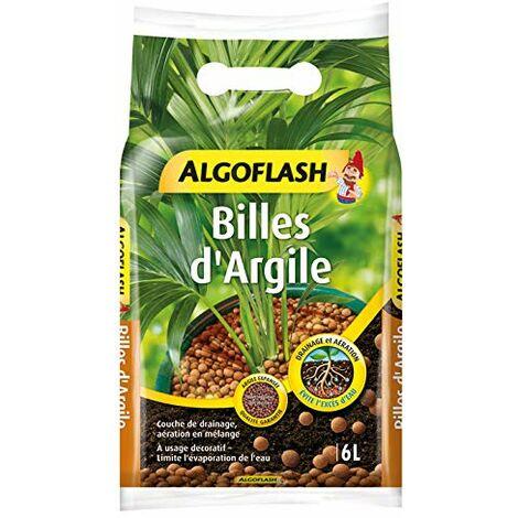 """main image of """"ALGOFLASH Billes d'Argile, Limite l'evaporation d'eau, 6 L, ATBILL6N"""""""