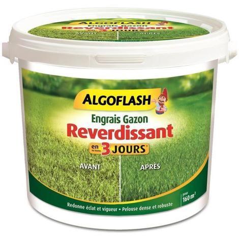 ALGOFLASH Engrais Gazon Reverdissant - 4kg